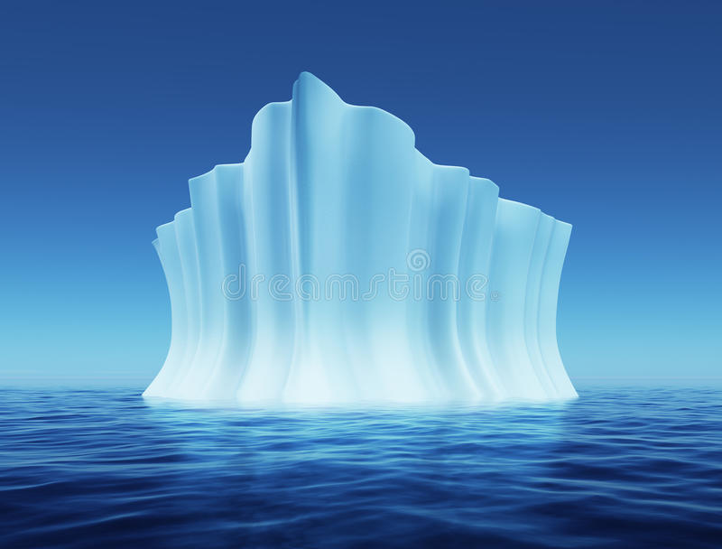 Download Melting iceberg stock illustration. Image of glacier - 10628034