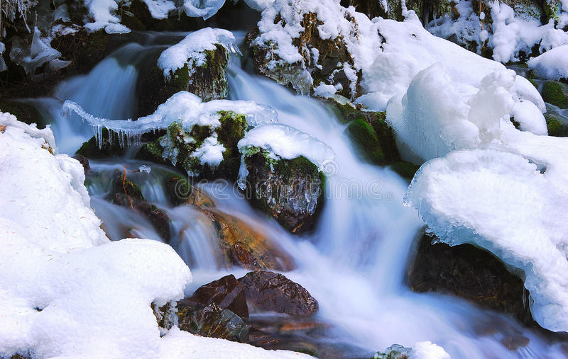 Download Melting snow stock photo. Image of background, rivers - 18552948