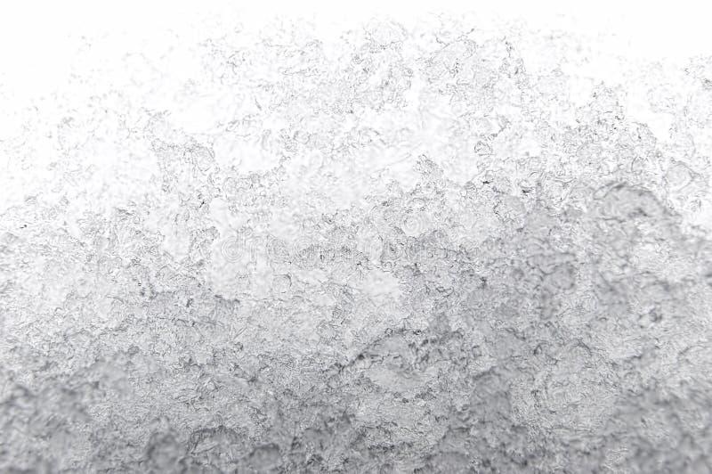 Melting snow stock photo