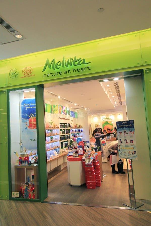 Melvita商店在香港 库存照片