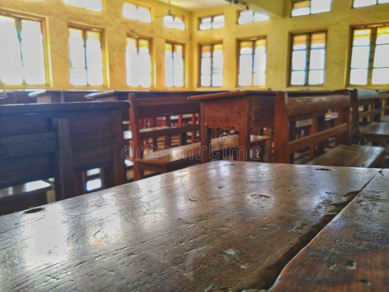 Memórias da sala de aula em um PIC fotos de stock royalty free