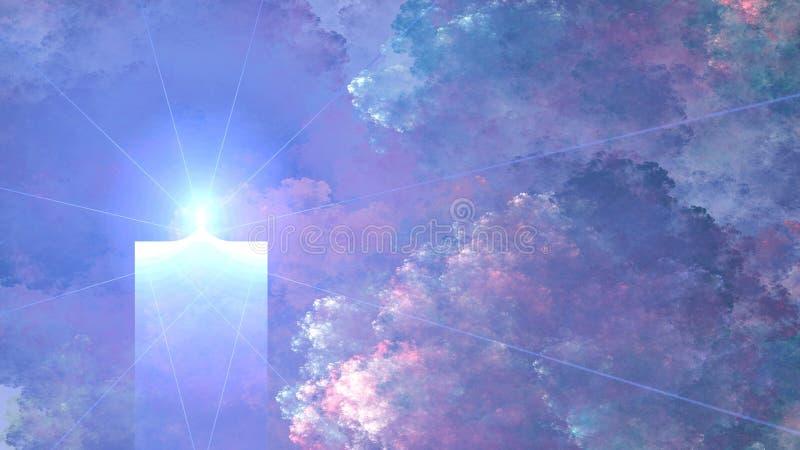 Memórias da vela, widescreen imagem de stock