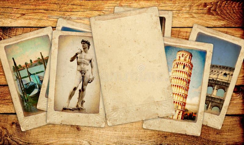 Memórias de Itália ilustração royalty free