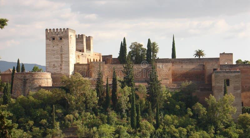 Memórias mouros - o Alhambra espetacular imagens de stock royalty free