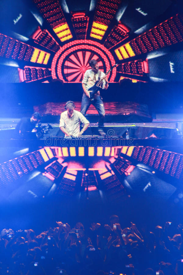 Download Members Of ARMIN ONLY: Intense Show With Armin Van Buuren In Minsk-Arena On February 21, 2014 Editorial Stock Photo - Image of happiness, green: 39821423