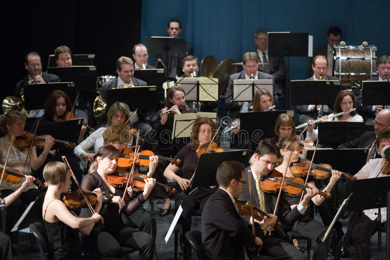 Download Members Of The MAV Orhestra Perform Editorial Photo - Image: 13636291