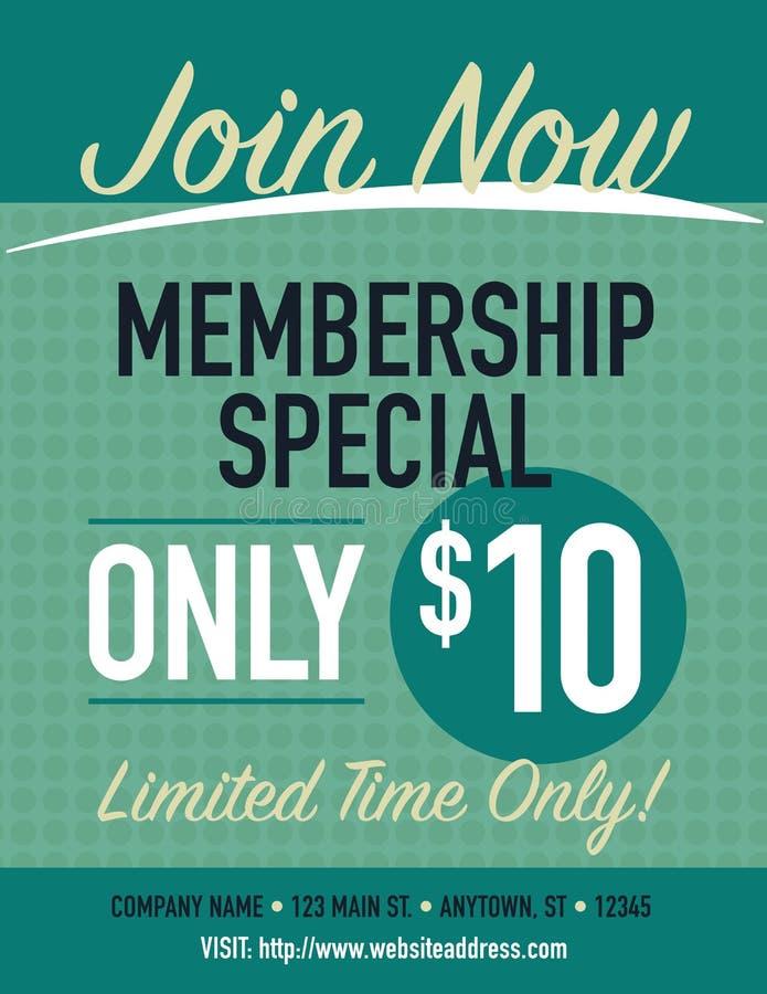 membership illustrazione vettoriale
