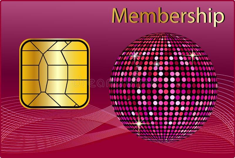 Membership Card stock illustration