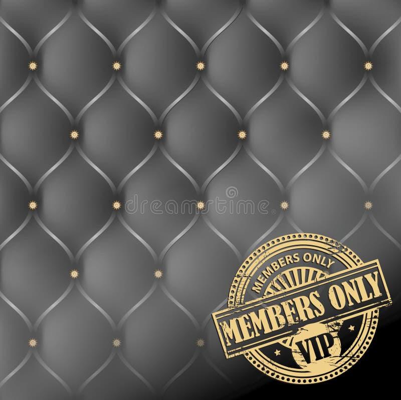 Membri soltanto, tema di VIP royalty illustrazione gratis