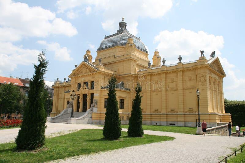 Membro da UE/Croácia novos/Zagreb imagens de stock royalty free