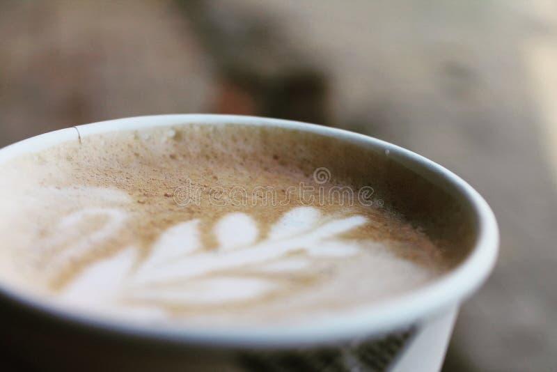 Membro del caffè fotografia stock