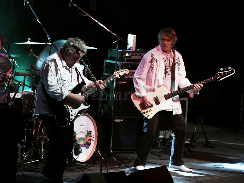 Membros da cinza do Wishbone de Martin Turner foto de stock