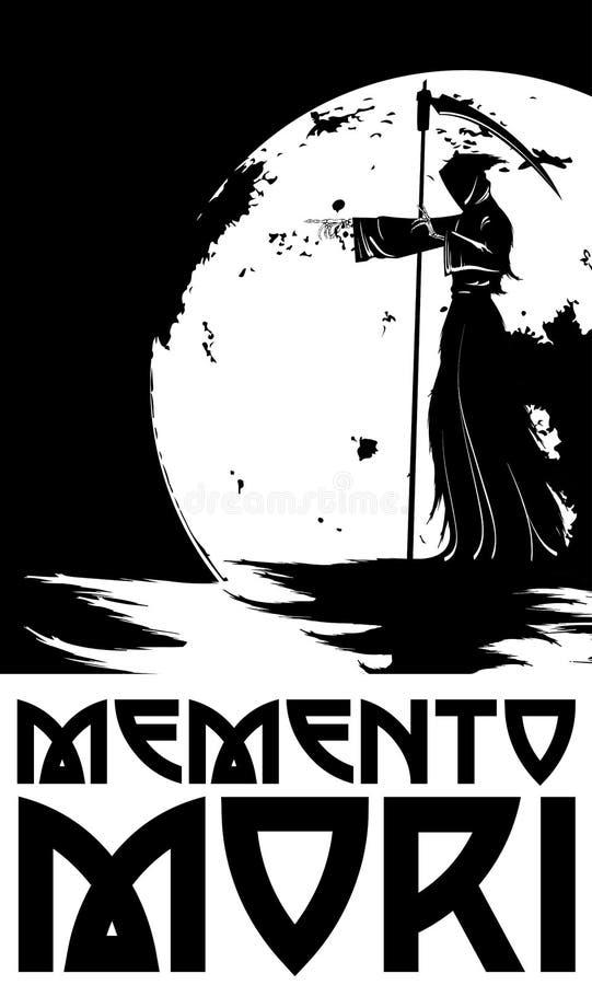 Memento mori E ilustração do vetor