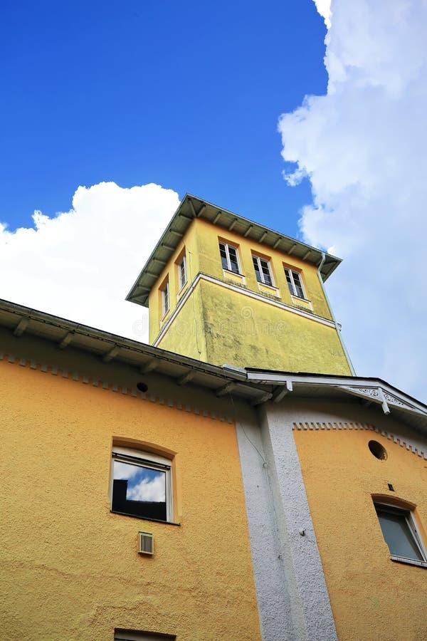 Memmingen è una città Baviera/Germania immagine stock libera da diritti