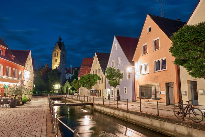 Memmingen в Германии стоковые фотографии rf
