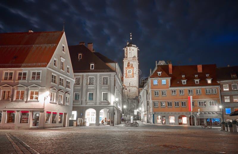 Memmingen in Duitsland royalty-vrije stock afbeelding