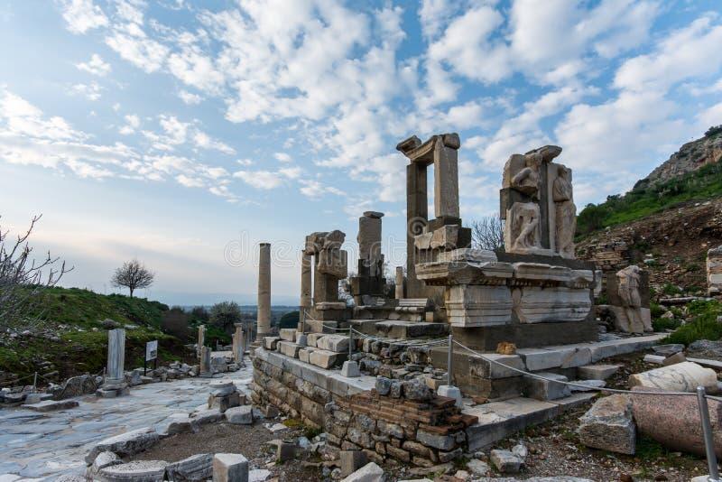 Memmius Monument, Ephesus royalty free stock images