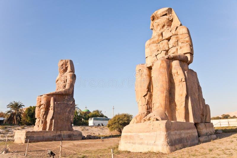 Memnon dos Colossi imagem de stock royalty free