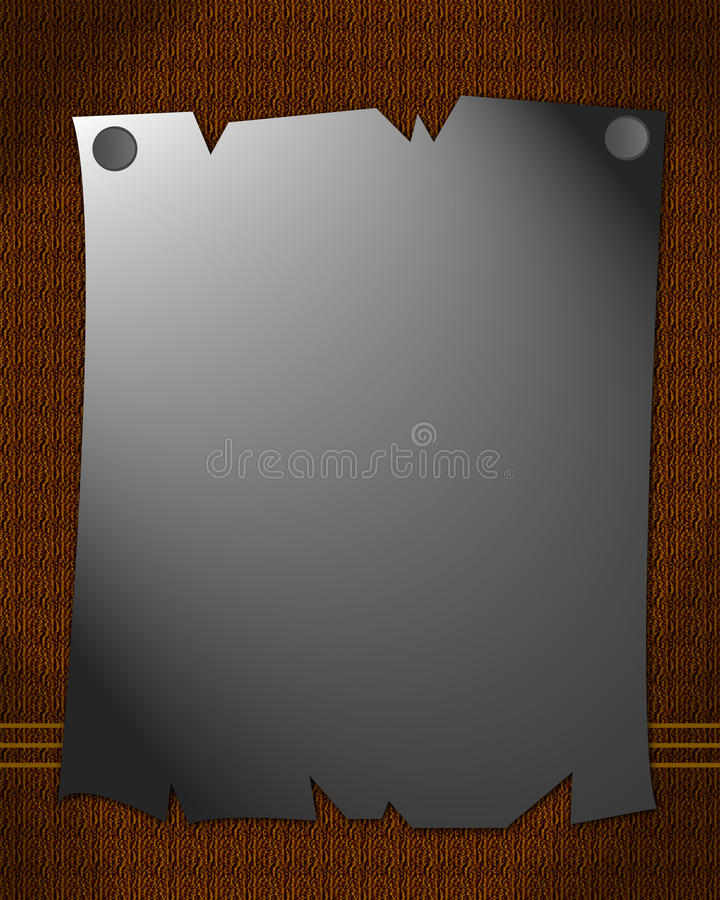 Download The Memo stock illustration. Image of style, vintage - 23032277