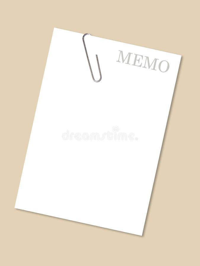 Memo vector illustration