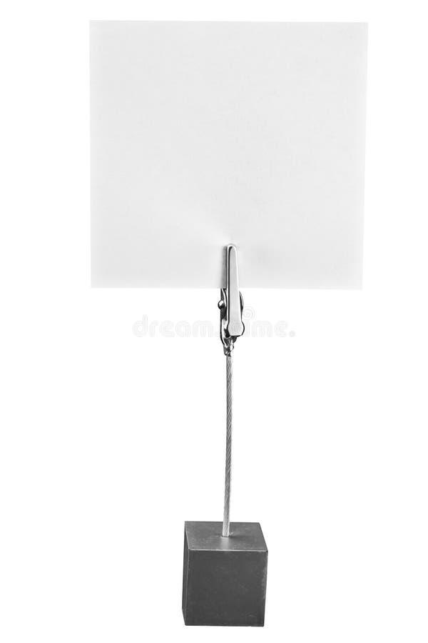 Download Memo Holder,paper holder stock image. Image of frame - 22569355