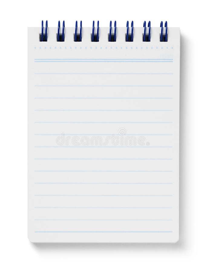 Memo pad royalty free stock images