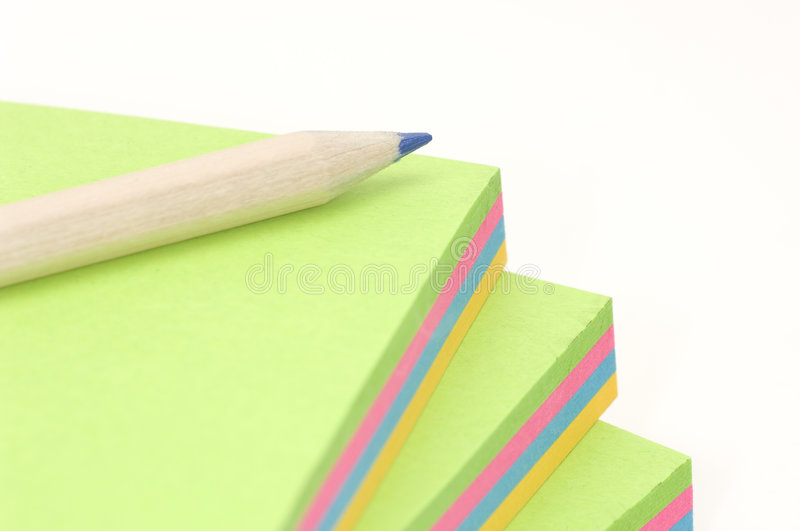 Memo Pads stock photography