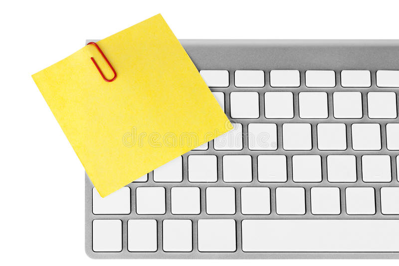 Memo paper with keyboard