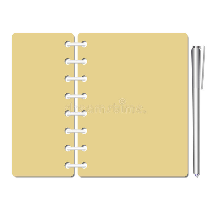 Memo Sheets Template Stock Vector Illustration Of Study