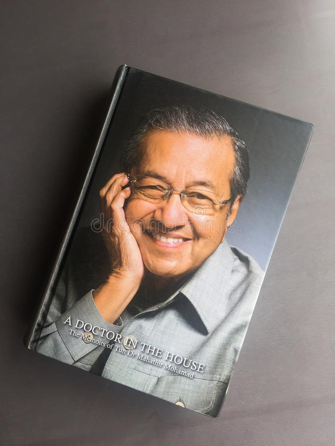 A memoir of Mahathir Mohammad royalty free stock photos