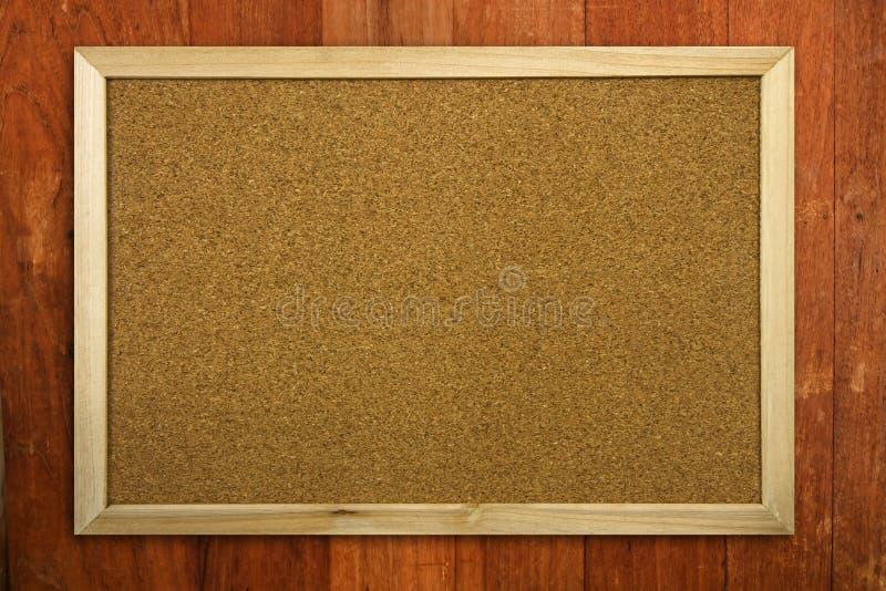 Memorando vazio Cork Board fotografia de stock