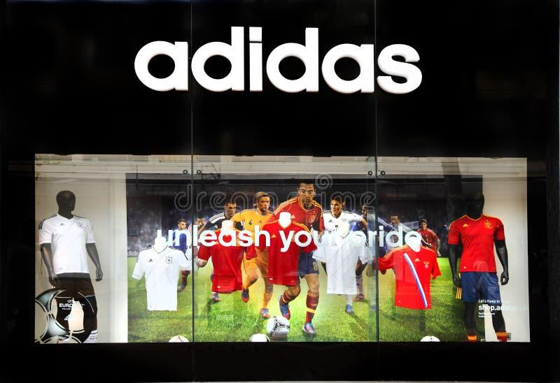Memoria dettaglianta di sport di Adidas fotografia stock