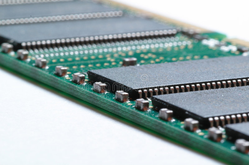 Download Memoria di calcolatore immagine stock. Immagine di chip - 350387