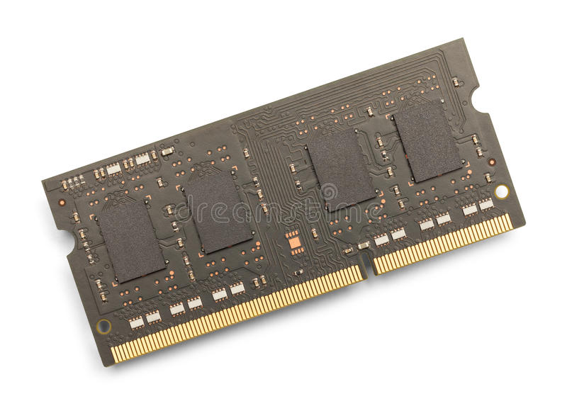 Memoria di computer fotografie stock