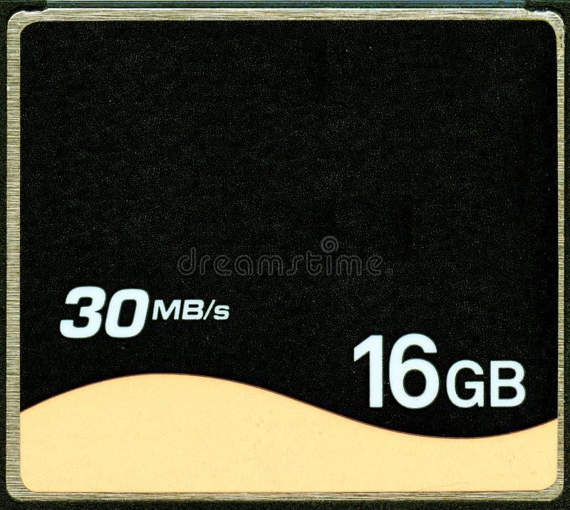 Memoria Flash compatta dei CF fotografia stock