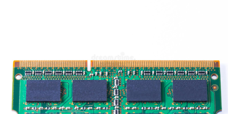 Memoria Ram Module fotografia stock