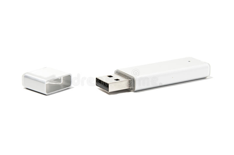 Memoria USB Pen Drive fotografía de archivo libre de regalías