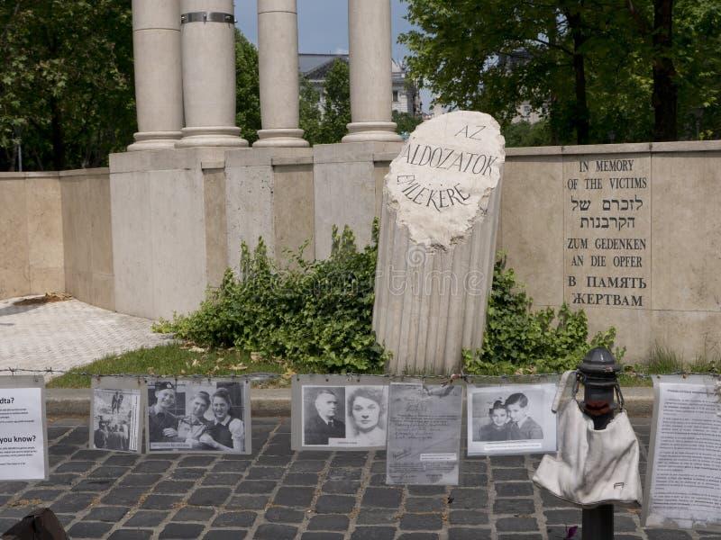 Memorial às vítimas da ocupação de Geraman fotos de stock royalty free