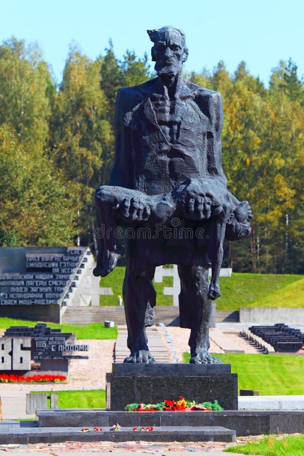 Memorial às vítimas do nazismo da segunda guerra mundial na URSS foto de stock royalty free