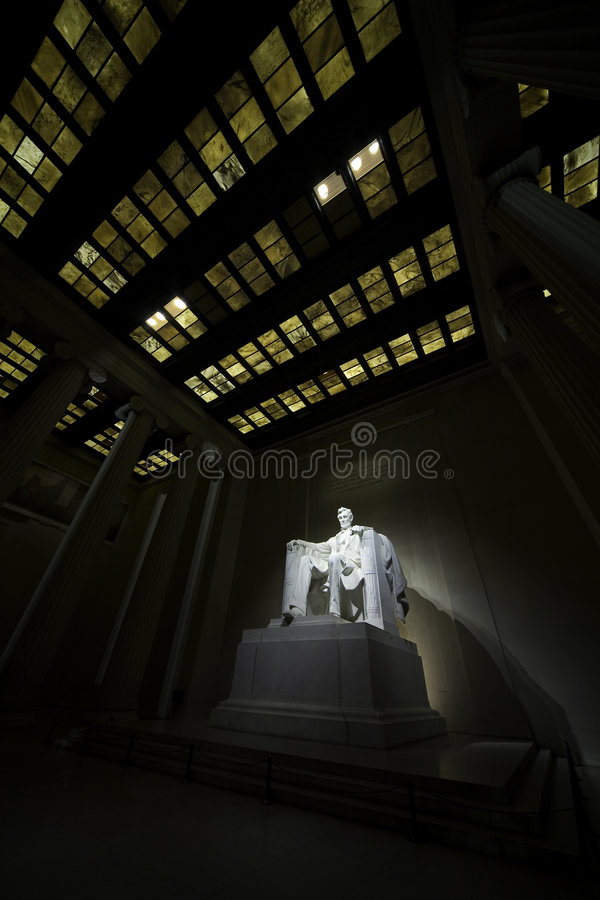Memorial 6 de Lincoln imagem de stock royalty free