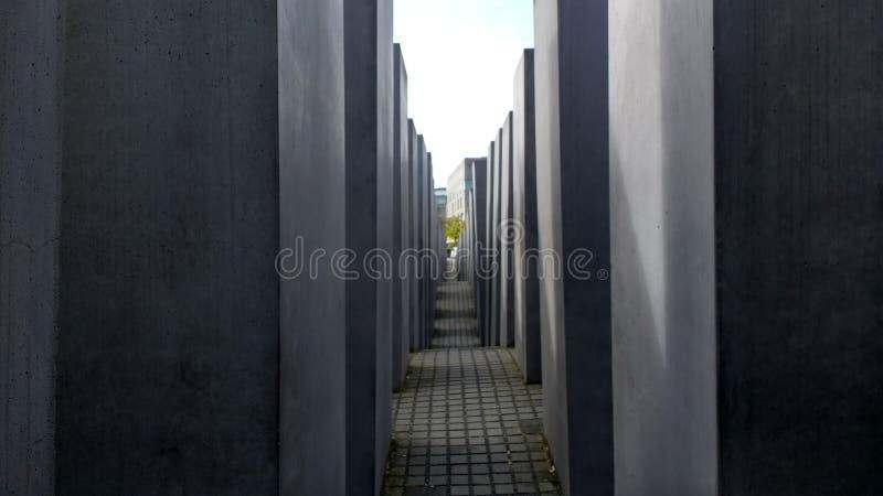 Memorial alleyway stock photo