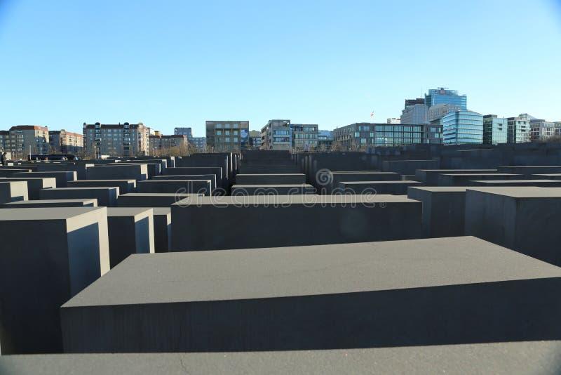 Memorial Berlim do holocausto fotos de stock royalty free