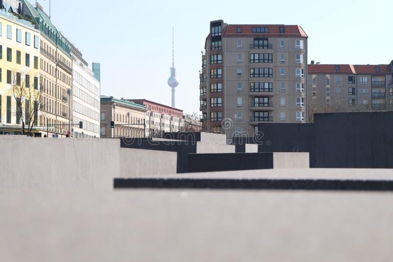 Memorial Berlim do holocausto fotografia de stock royalty free
