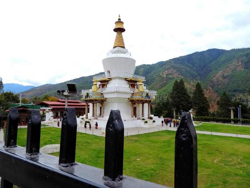 Memorial Chorten, Thimphu, Bhutan stock photo
