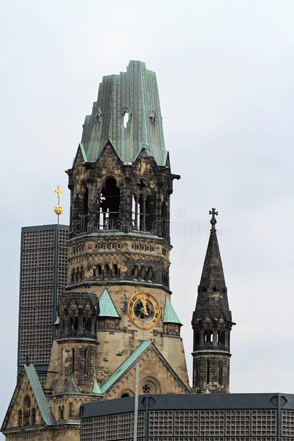 Download Memorial Church Berlin stock photo. Image of destruction - 20386684