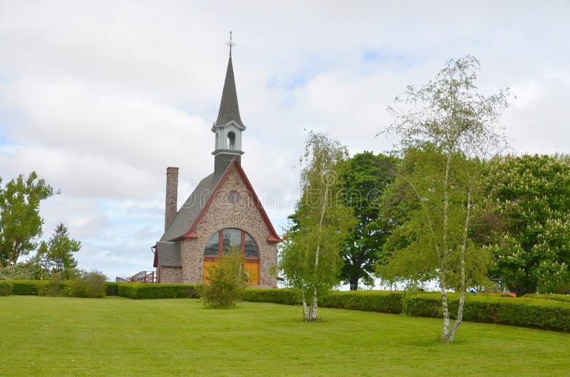 The Memorial Church of Grand Pre royalty free stock photos