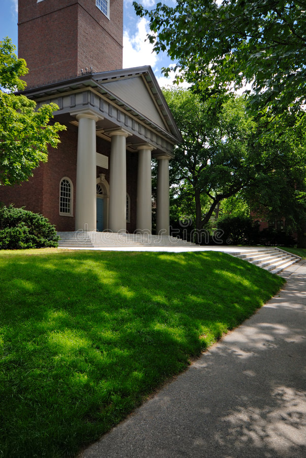 Free Memorial Church, Harvard Stock Photo - 2737950