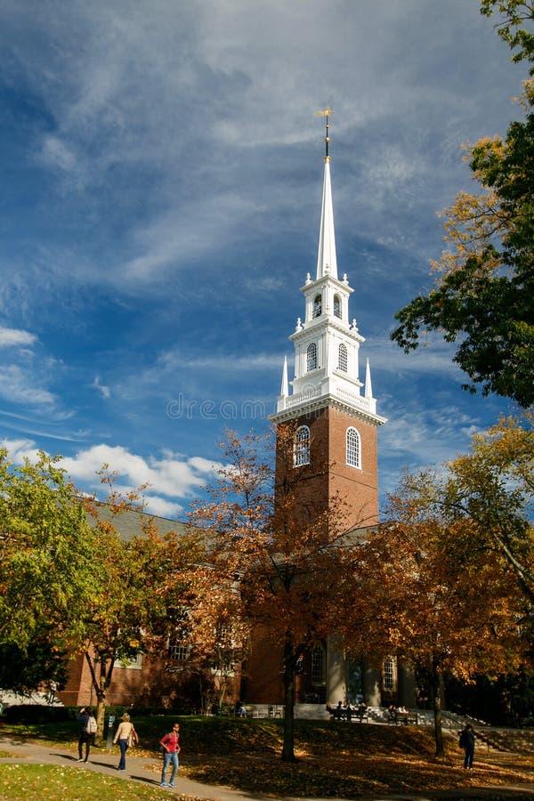 Memorial Church at Harvard University royalty free stock photos