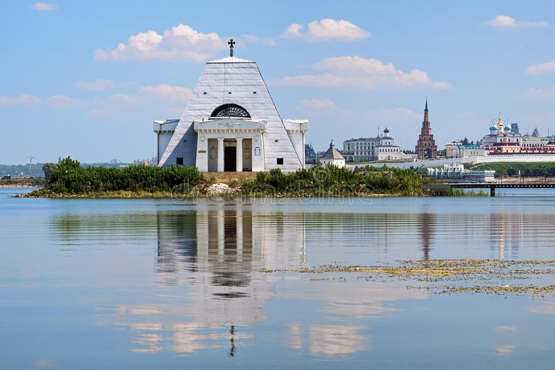 Download Memorial Church And Kazan Kremlin, Russia Royalty Free Stock Photos - Image: 29012108