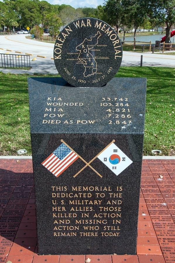 Memorial da Guerra da Coreia fotografia de stock royalty free